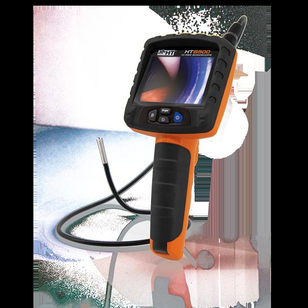 HTB500 Endoskopkamera mit Akku und flexibler Sonde