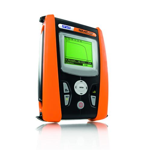 SOLAR I-VE Messgerät für PV Anlagen sowie PV Module & Strings