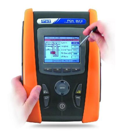PQA 823 Professioneller Netzanalysator (En50160) für die Leistungs-, Netz- und Energie-Analyse