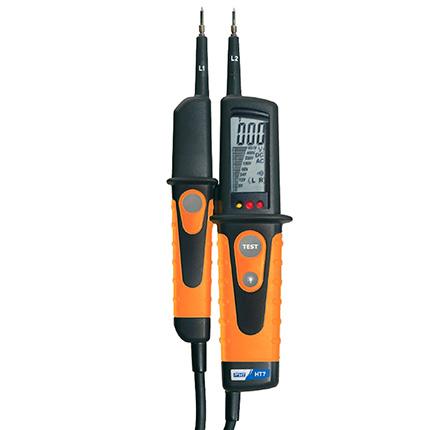 HT7 Digitaler Spannungsprüfer, mit Lastzuschaltung, 0V bis 690V AC/DC , CAT IV 600V