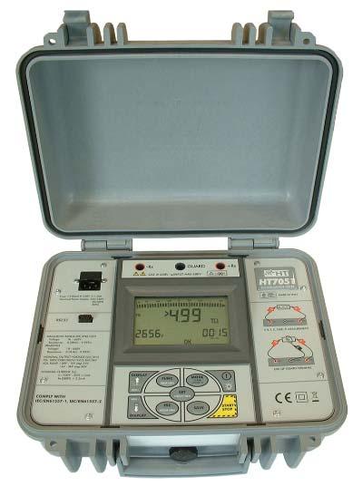 HT 7051 digtaler Hochspannungsisolationstester programmierbar, 250V-5kV DC