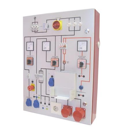 HT-PT03 Prüftafel 3 Amperemeter