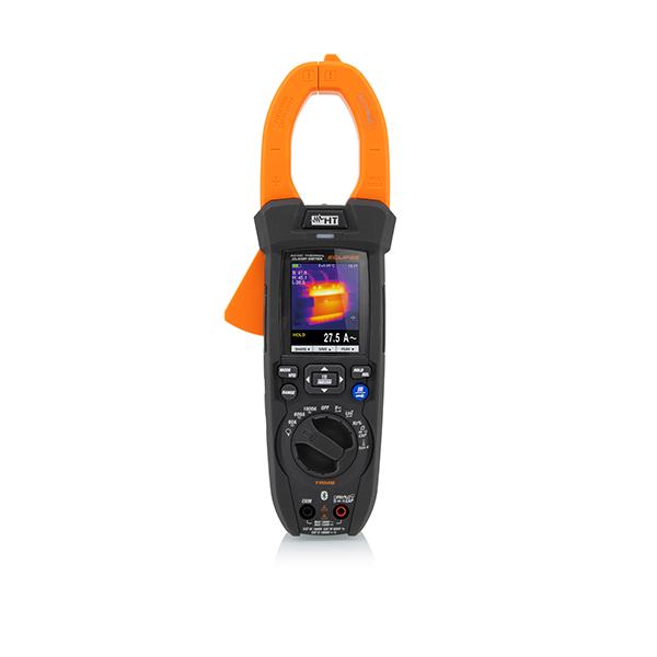 ECLIPSE 2 in 1 => Stromzange TRMS & CAT IV bis 1500VDC mit integrierter Wärmebildkamera 80x80pixel