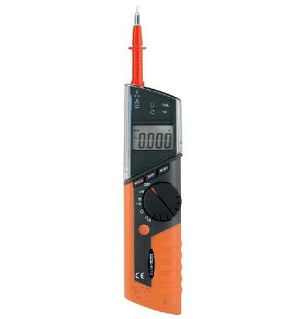 HT712 Digitaler Spannungsprüfer mit berührungsloser Phasenprüfung, CAT IV 600V
