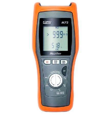M72 Digitales TRMS Multimeter mit Isolationsmessung 500V und Niederohmmessung