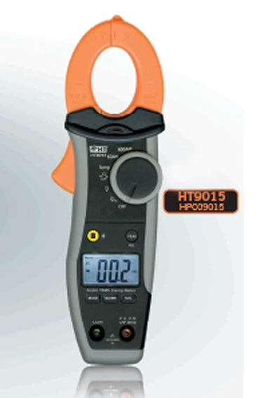 HT9015  Digitale Stromzange 600A AC/DC TRMS, CAT IV 600V