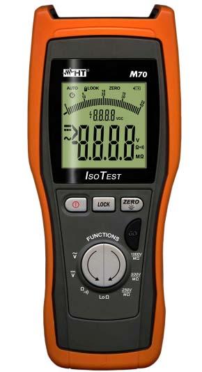 M70 Digitales Multimeter mit Isolationsmessung 1KV und Niederohmmessung