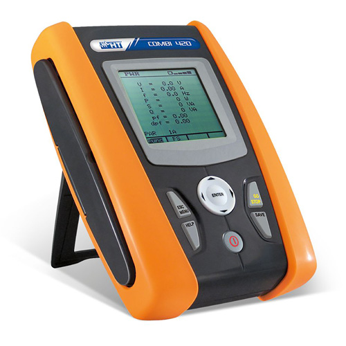 Combi 420 VDE 0100 & VDE 0105 Multifunktionsprüfgerät inkl. einphasiger Leistungsanalyse