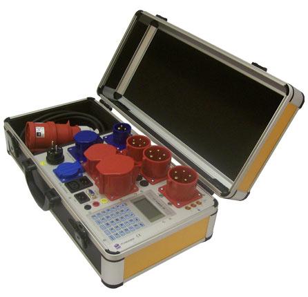 HT-POWER 0701/ 0702 3P CL Gerätetester (DGUV Vorschrift 3) zur Prüfung 1 und 3-phasiger Betriebsmittel bis 24kW