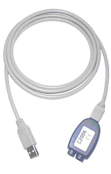 C2006 Optisches Schnittstellenkabel mit USB