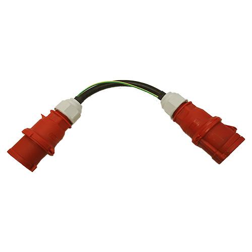 CEE 32A Differenzstromadapter für Schutzleiterstrommessung