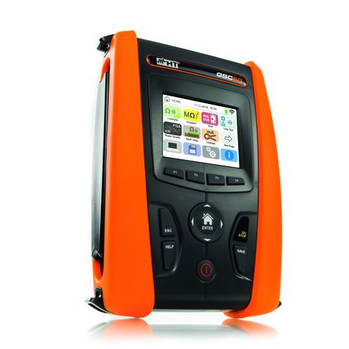 GSC60 VDE 0100 Installationstester & 3 Phasen Netz-/Energieanalysator CAT IV mit Farb- Touchscreen und WLAN