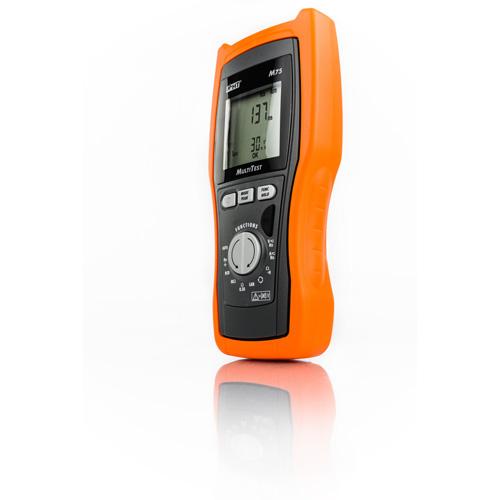 M75 Kompakter VDE 0100-Tester mit Multimeter & LAN-Test-Funktionen