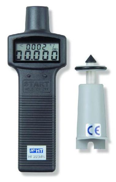 HT2234N Digitales Drehzahlmessgerät, optisch und mechanisch