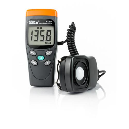 HT204 Portables Digital Solarmessgerät