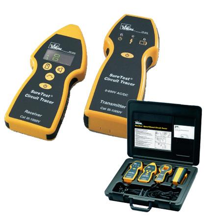 HV00959 Kabel- und Leitungsfinder mit Sender, Sendezange und Empfänger mit Richtungsangabe