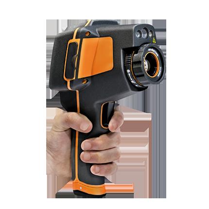 THT70 Wärmebildkamera mit 384x 288 Pixel, Touchscreen & Bild in Bild Funktion