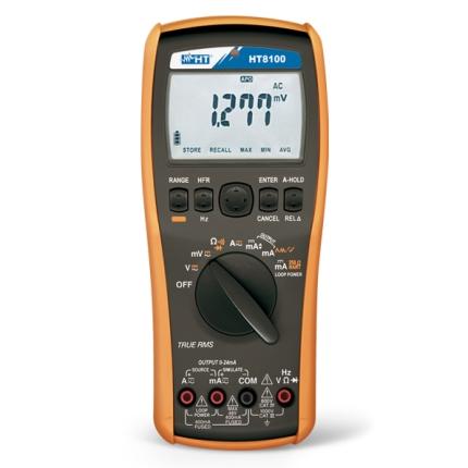 HT8100 Digitaler Prozesskalibrator & TRMS Präzisionsmultimeter