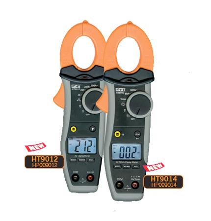 HT9012  Digitale Stromzange 600A AC mit mA Funktion, CAT IV 600V