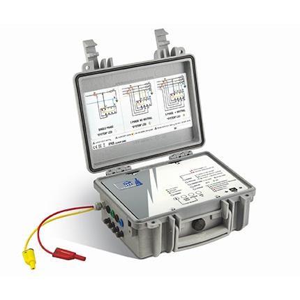 PQA 820Ti 3 Phasen Datenlogger zur  Netz- und Leistungsanalyse inkl. iPadMini