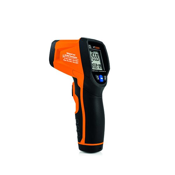 HT3305 Infrarot Thermometer mit Anschluss für Typ K Temperaturfühler