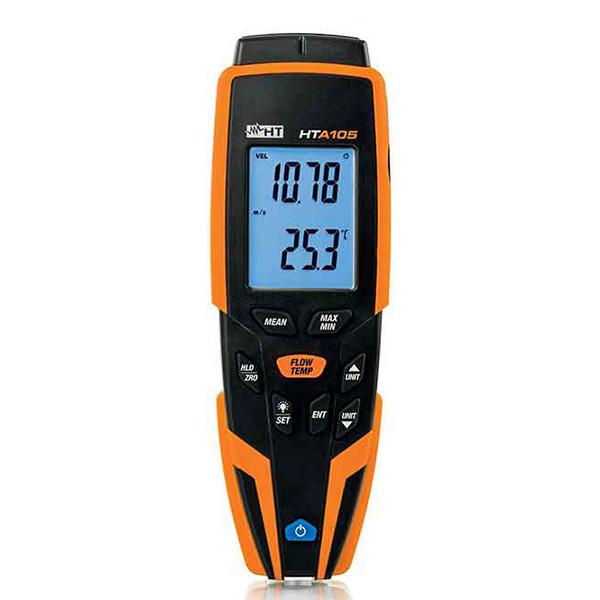 HTA105 Digital-Anemometer inkl. Lufttemperaturmessung