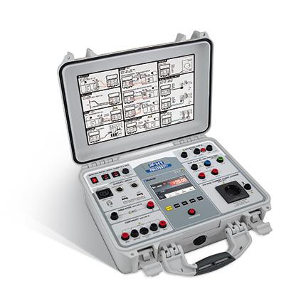 FULLTEST 3 VDE 0113 / EN60204-1 Maschinen- & Anlagenprüfgerät