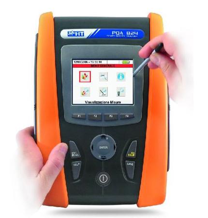 PQA 824 Professioneller Netzanalysator (En50160) für die Leistungs-, Netz- und Energie-Analyse