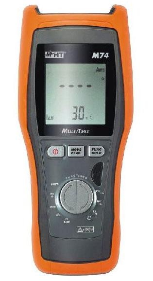 M74 Kompakter VDE 0100-Tester mit Multimeterfunktionen